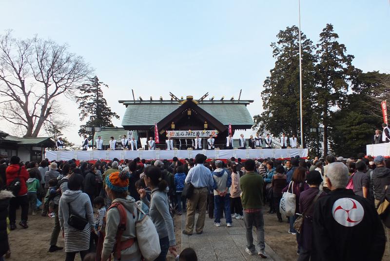 高石神社 平成27年 度節分祭