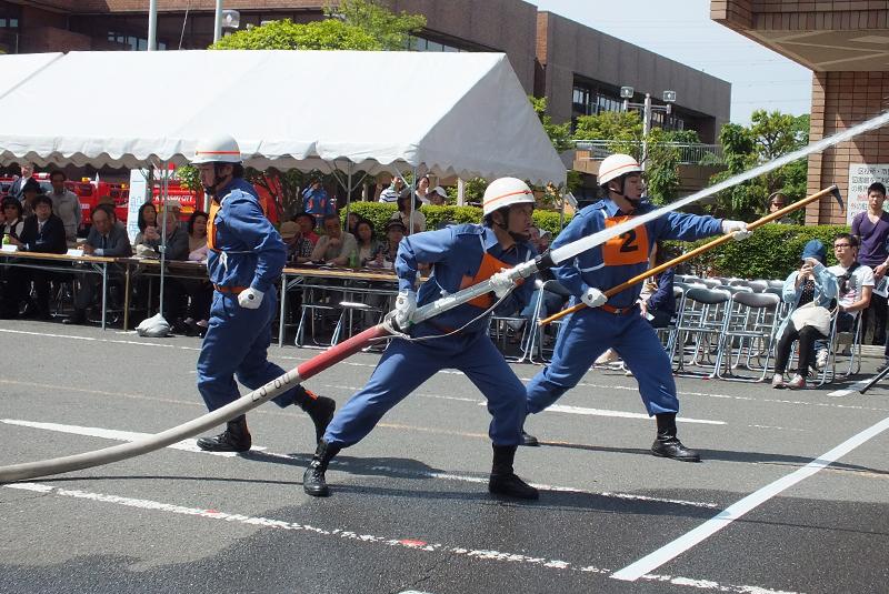 平成27年度 麻生消防団ポンプ操法大会が開催されました。