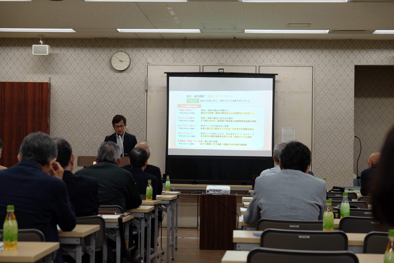 麻生区町会連合会で防災講演を行いました。